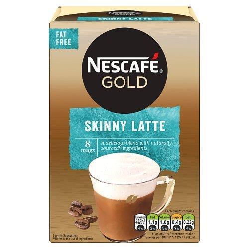 Nescafe Sachets Gold Latte Skinny 8's (8 x 19.5g)