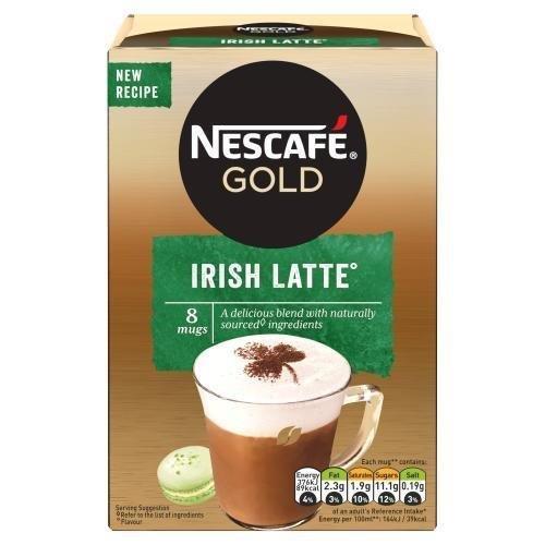 Nescafe Sachets Gold Irish Latte 8's (8 x 22g)