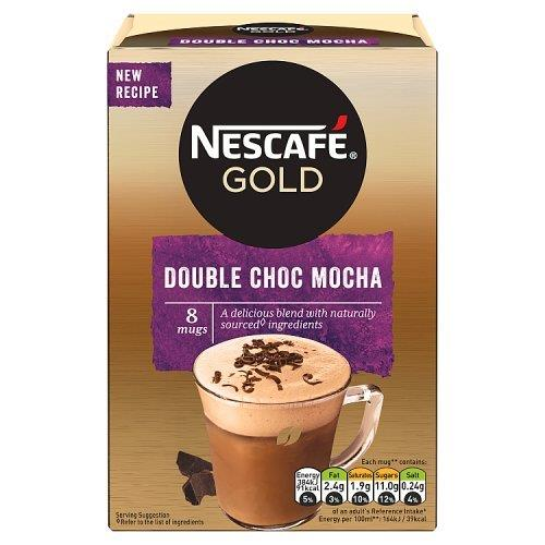 Nescafe Sachets Gold Mocha Double Chocolate 8's (8 x 23g)