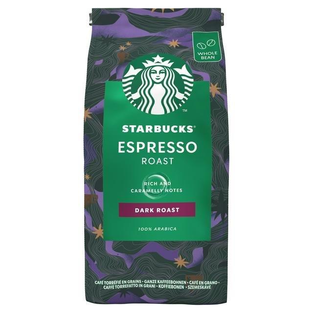 Starbucks Beans Dark Espresso Roast 200g