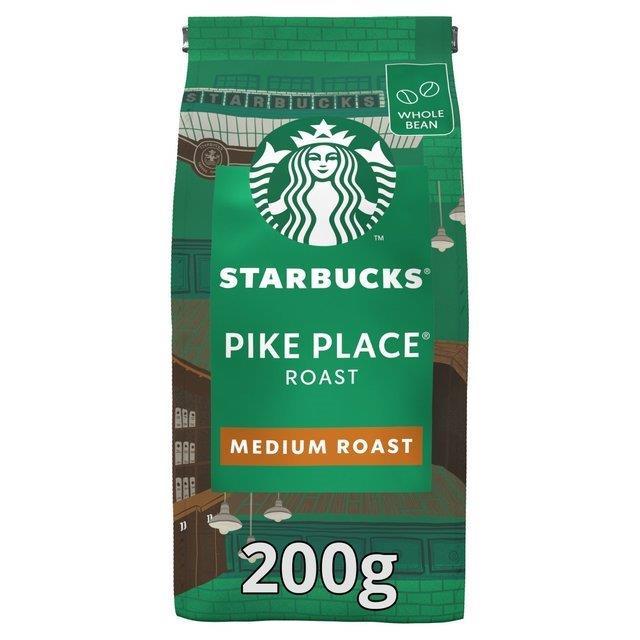 Starbucks Beans Medium Pike Place 200g