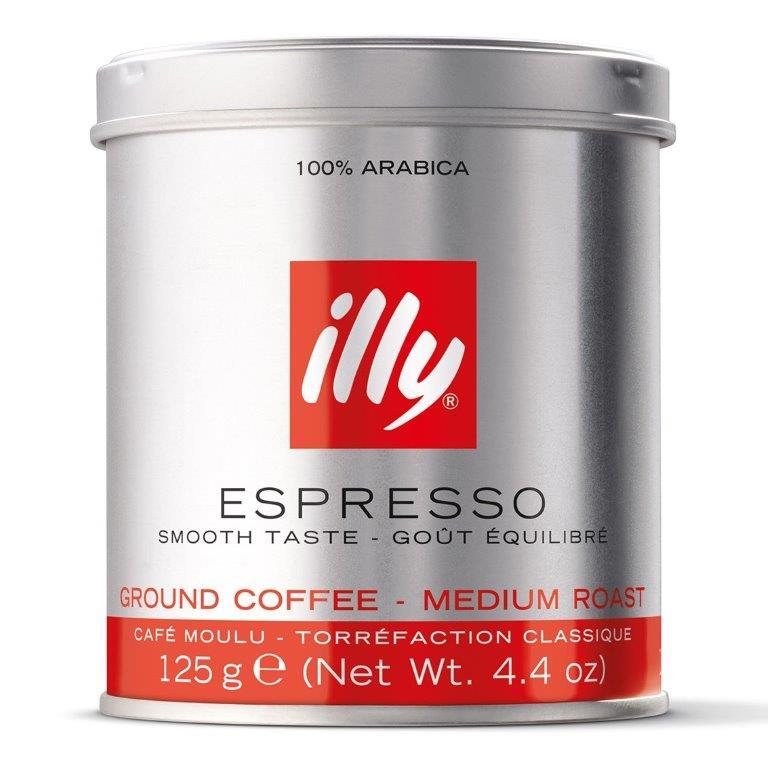 Illy Espresso Ground Tin125g