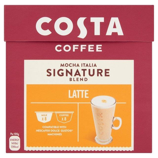 Costa Dolce Gusto Latte 8 + 8's