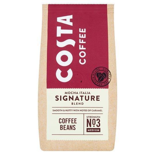 Costa Signature Blend Beans 200g