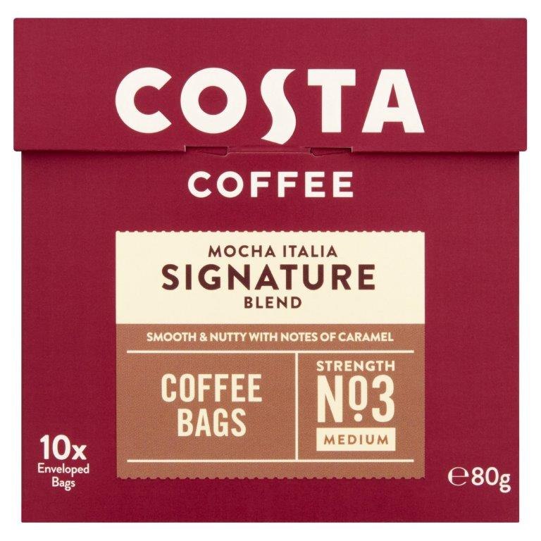 Costa Signature Blend Coffee Bags 10's