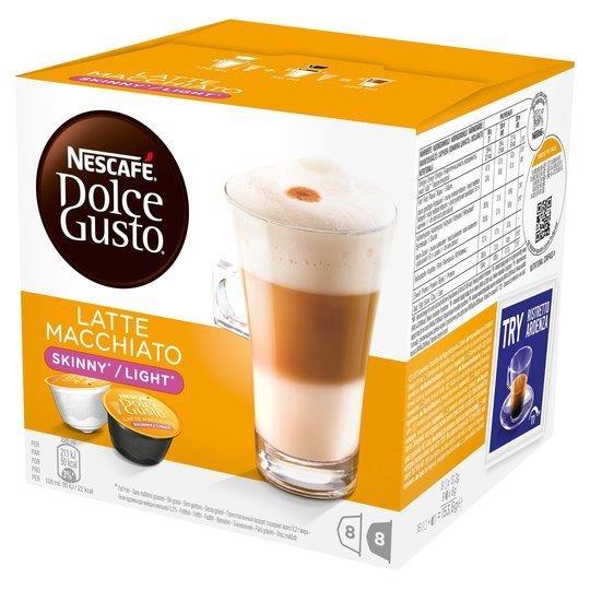 Nescafe Dolce Gusto Skinny Latte 16's 153.6g