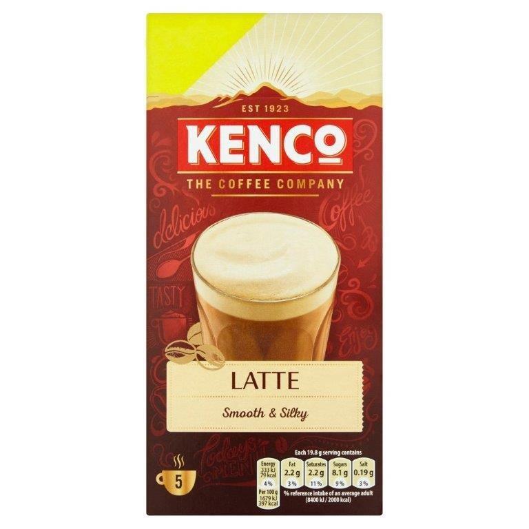 Kenco Sachets Instant Latte 5's PM £1.50