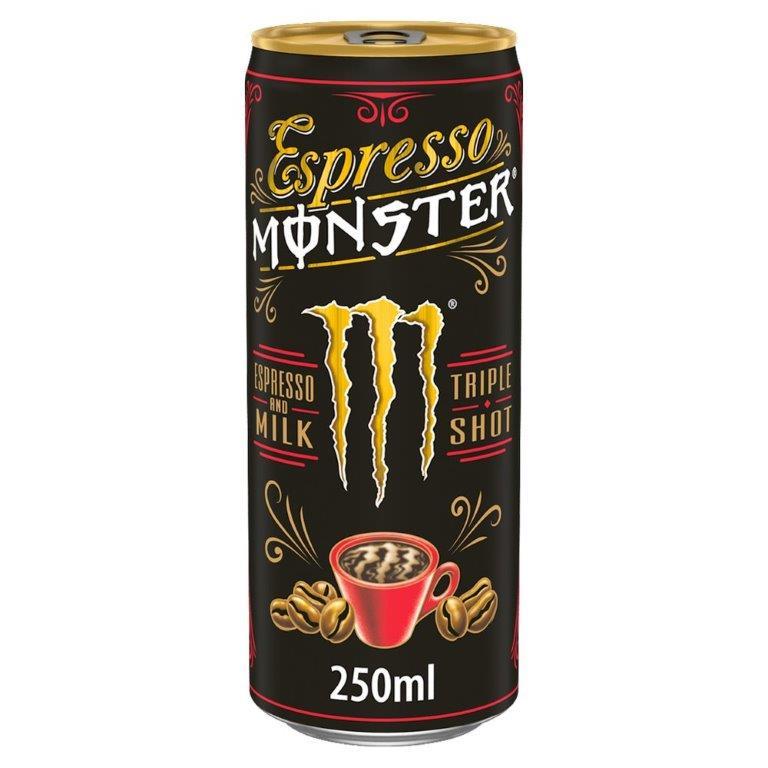 Monster Espresso Cream 250ml PM £1.99