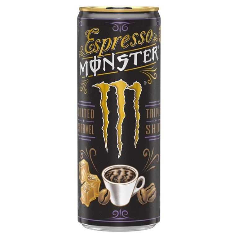 Monster Espresso Salted Caramel 250ml PM £1.99