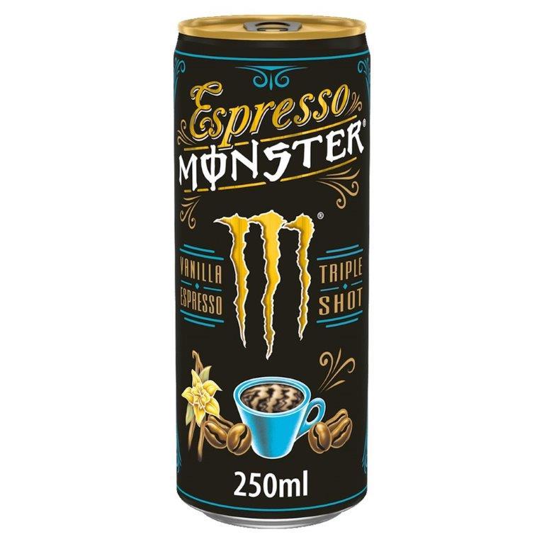 Monster Espresso Vanilla 250ml PM £1.99