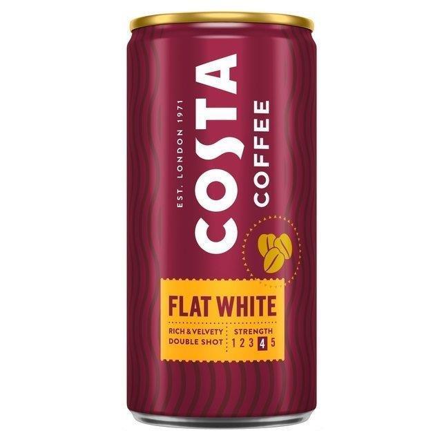 Costa Coffee Can Flat White 200ml