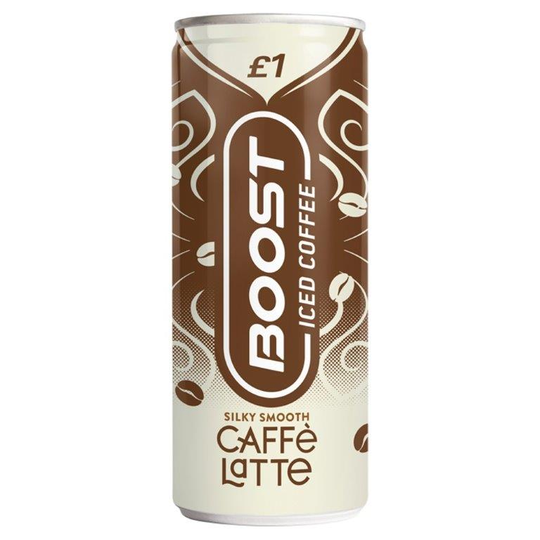 Boost Coffee Latte 250ml PM £1