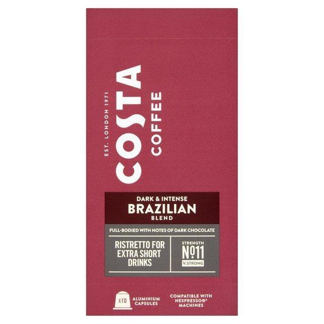 Costa Nespresso Brazilian Blend Ristretto 10's