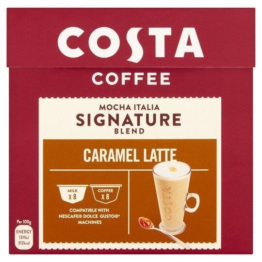 Costa Dolce Gusto Caramel Latte 8 + 8's