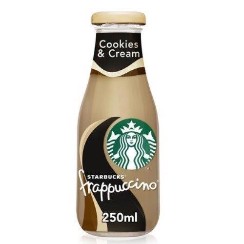 Starbucks Frappuccino Glass Cookies & Cream 250ml NEW