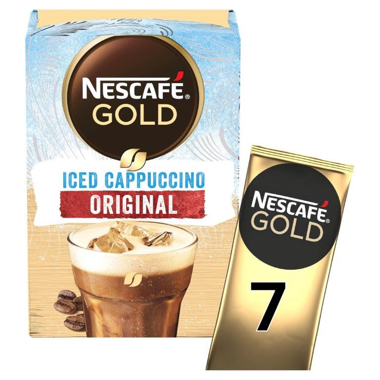 Nescafe Sachets Gold Iced Cappuccino 7's (7 x 15.5g) NEW
