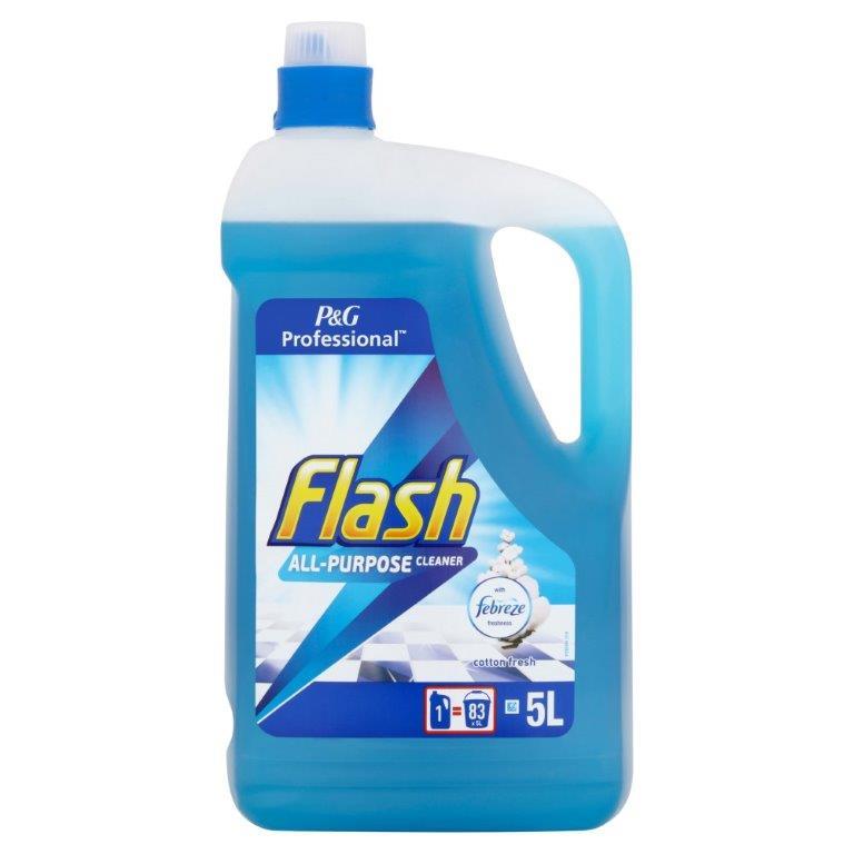 Flash Professional All Purpose Cotton Fresh 5L