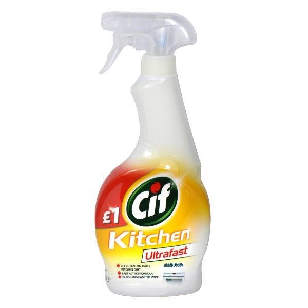 Cif Ultrafast Spray Kitchen 450ml PM £1