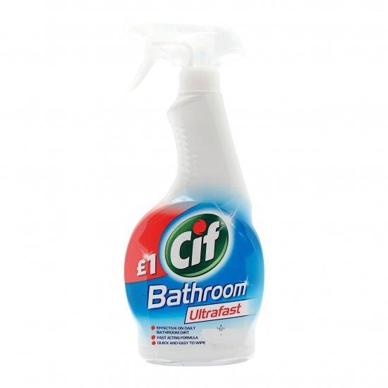 Cif Ultrafast Spray Bathroom 450ml PM £1