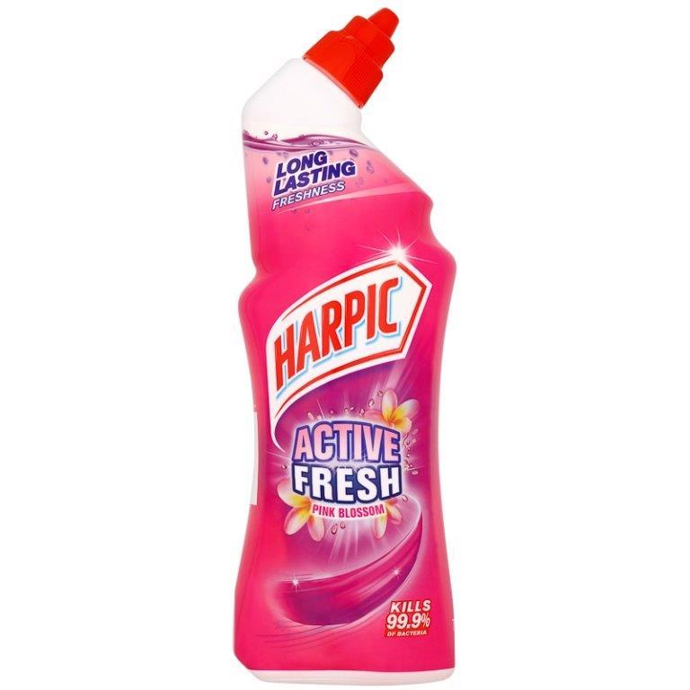 Harpic Active Fresh Gel Pink Blossom 750ml PM £1