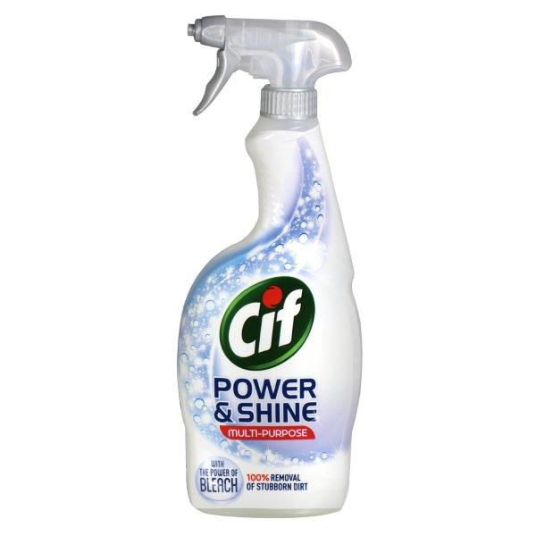 Cif Power & Shine Bleach Spray 700ml
