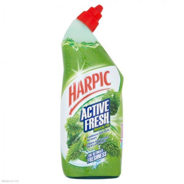 Harpic Active Fresh Cleaning Gel Pine Green 750ml