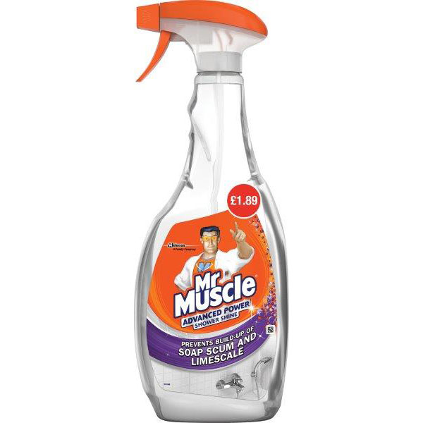 Mr. Muscle Advanced Power Shower Trigger 750ml PM £1.89