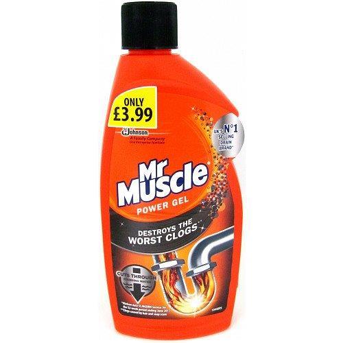 Mr. Muscle Drain Gel 500ml PM £3.99