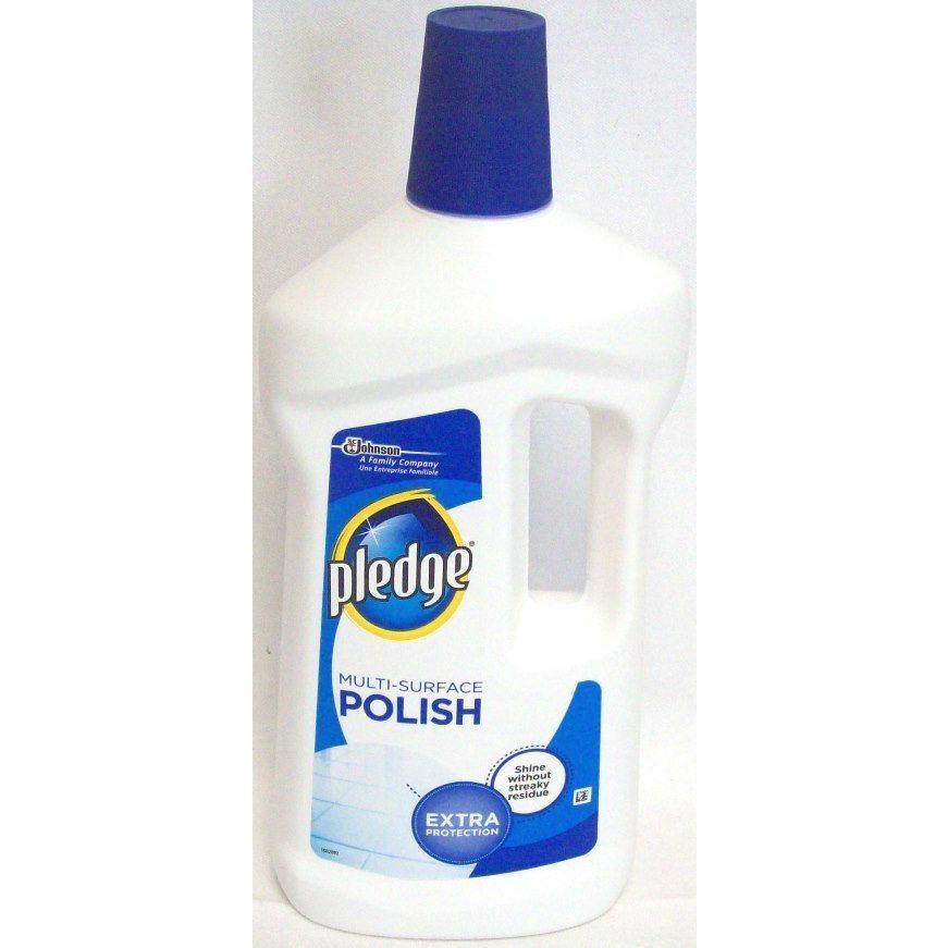 Pledge M/S Floor Polish Wax 750ml