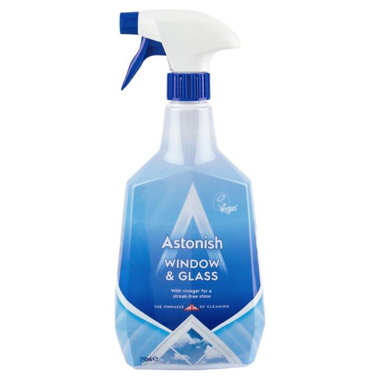 Astonish Window & Glass Cleaner Spray 750ml PM £1