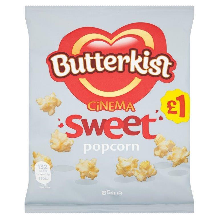 Butterkist Popcorn Cinema Sweet 85g PM £1