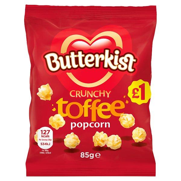 Butterkist Popcorn Toffee 85g PM £1