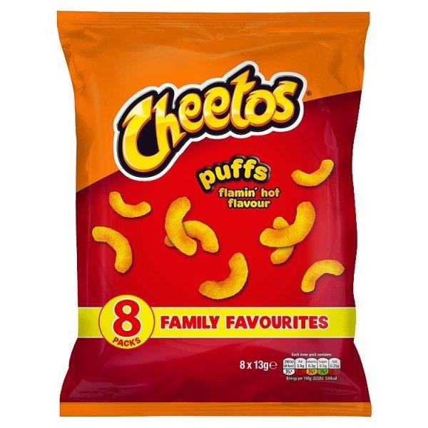 Cheetos Flamin Hot 8pk (8 x 30g)
