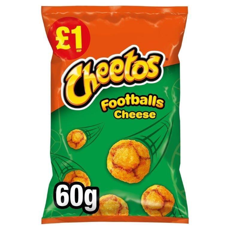 Cheetos Footballs 60g PM £1