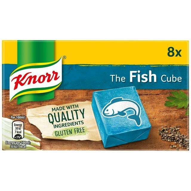 Knorr Stock Cubes Box Fish 8's (8 x 10g)