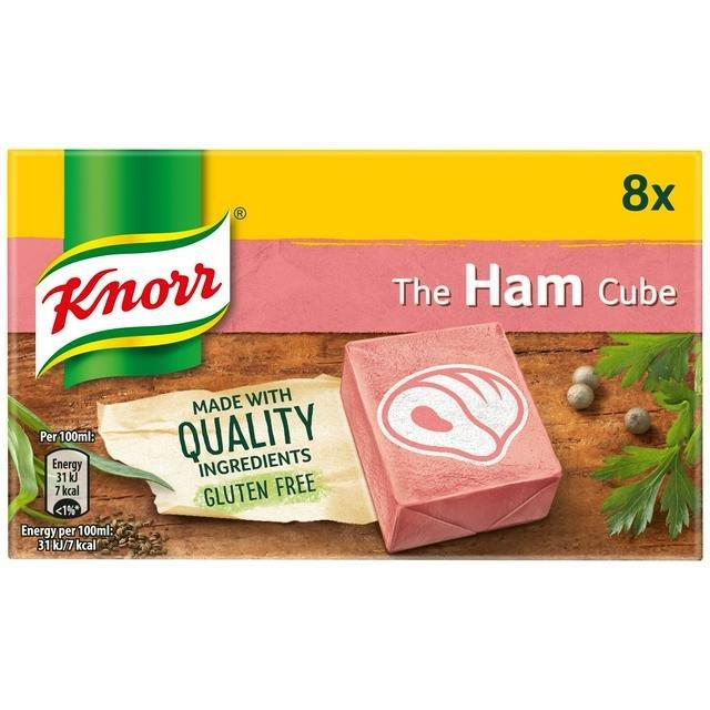Knorr Stock Cubes Box Ham 8's (8 x 10g)
