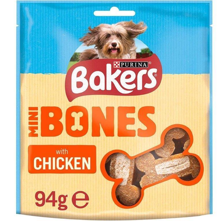 Bakers Mini Bones Chicken 94g