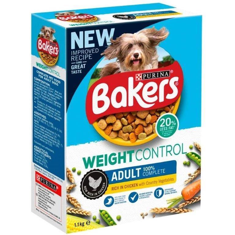 Bakers Weight Control Chicken&Veg 1.1kg