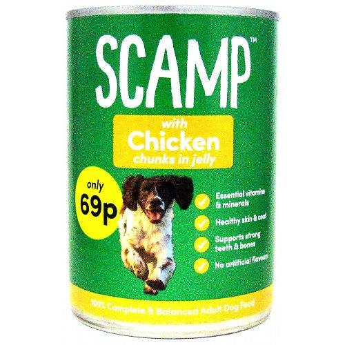 Scamp Chicken Chunks In Jelly 400g PM 69p