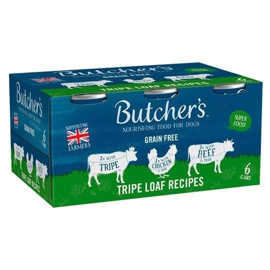 Butcher's Tripe Loaf Recipes Can 6pk (6 x 400g)