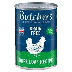 Butcher's Chicken & Tripe Loaf Can 400g Loaf