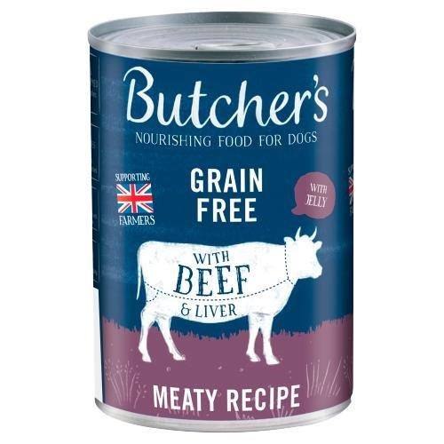Butcher's Beef & Liver Can 400g