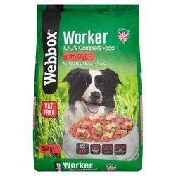 Webbox Worker Beef 15kg