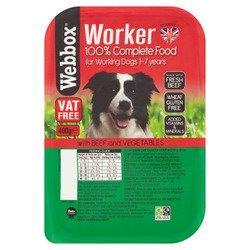 Webbox Worker Beef & Veg 400g