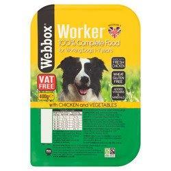 Webbox Worker Chicken & Veg 400g