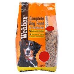 Webbox Complete Dog Food Chicken 2kg PM £1.99