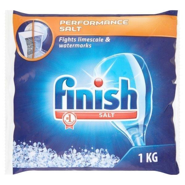 Finish Dishwasher Performance Salt Bag 1kg