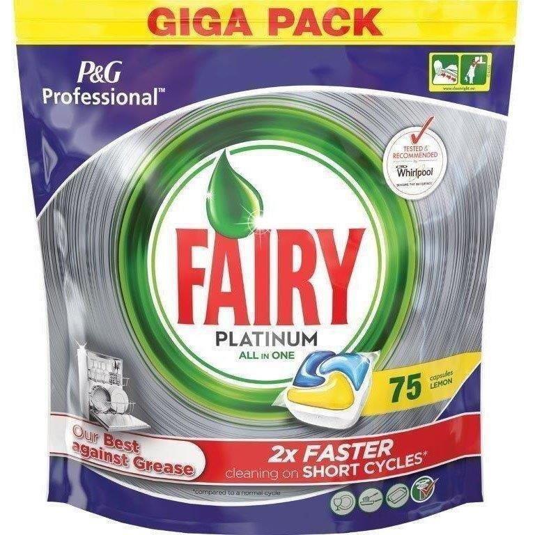 Fairy Professional Platinum Lemon 75s