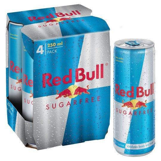 Red Bull S/F 4pk (4 x 250ml)