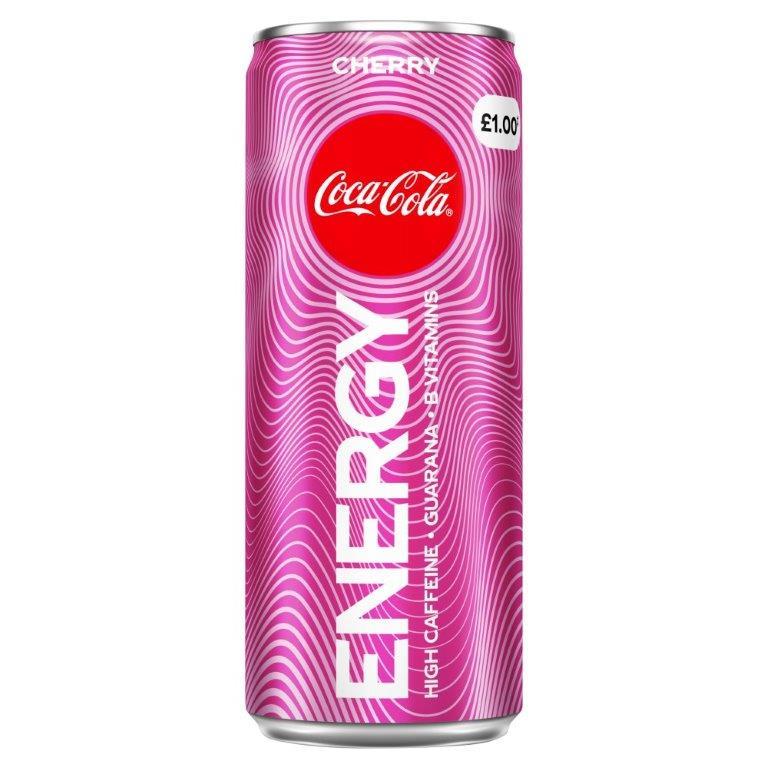 Coca Cola Energy Cherry 250ml PM £1